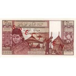 Mauritanie - Pick 2s - 200 ouguiya - 1973 - Spécimen - Etat : NEUF
