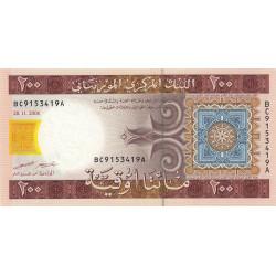Mauritanie - Pick 11b - 200 ouguiya - 2006 - Etat : NEUF