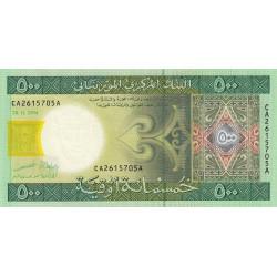 Mauritanie - Pick 12a - 500 ouguiya - 2004 - Etat : NEUF