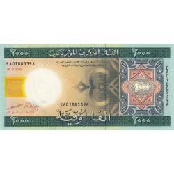Mauritanie - Pick 14a - 2'000 ouguiya - 2004 - Etat : pr.NEUF