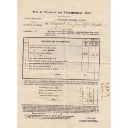 Duché de Savoie - Samoens - Contributions 1856 - 4 livres - Etat : TTB+