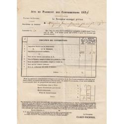Duché de Savoie - Samoens - Contributions 1856 - 2 livres - Etat : TTB+