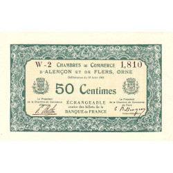 Alençon / Flers (Orne) - Pirot 6-5 - 50 centimes - 1915 - Etat : NEUF