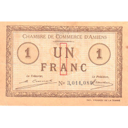 Amiens - Pirot 7-51 - 1 franc - Etat : TB-