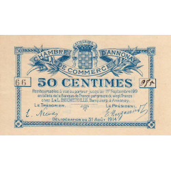 Annonay - Pirot 11-7 - 50 centimes - Etat : SUP+