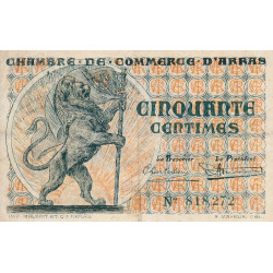 Arras - Pirot 13-4 - 50 centimes - Etat : TTB