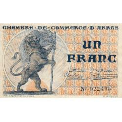 Arras - Pirot 13-5 - 1 franc - Etat : SUP