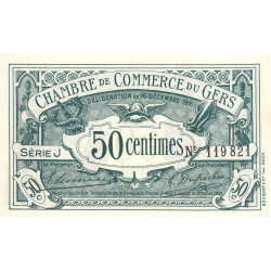 Auch (Gers) - Pirot 15-9-J - 50 centimes - Etat : NEUF