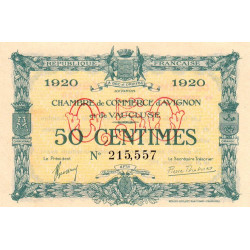 Avignon - Pirot 18-22 - 50 centimes - Etat : NEUF