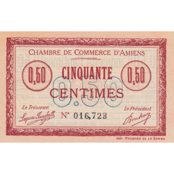 Amiens - Pirot 007-05 - 50 centimes