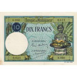 Madagascar - Pick 36b - 10 francs - 1937 - Etat : TTB+