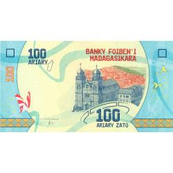 Madagascar - Pick 97 - 100 ariary - 2017