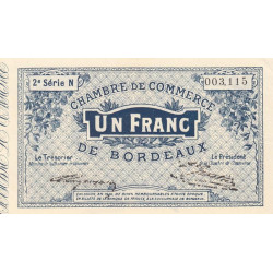 Bordeaux - Pirot 030-06 - 1 franc