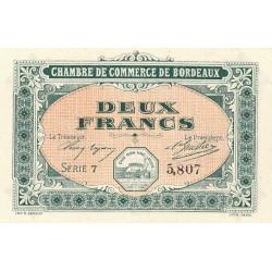 Bordeaux - Pirot 030-17 - 2 francs