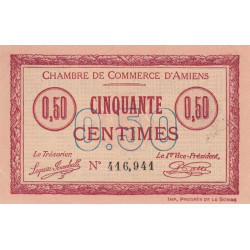 Amiens - Pirot 007-26 - 50 centimes