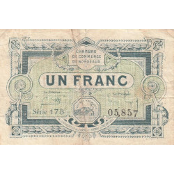Bordeaux - Pirot 030-26 - 1 franc