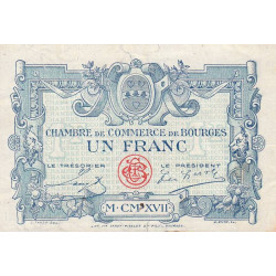 Bourges - Pirot 32-11-A - 1 franc - Etat : TB-