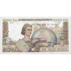 F 50-63 - 05/02/1953 - 10000 francs - Génie Français - Etat : TTB-