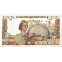 F 50-69 - 07/01/1954 - 10000 francs - Génie Français - Etat : TTB-