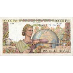 F 50-72 - 04/11/1954 - 10000 francs - Génie Français - Etat : TTB-