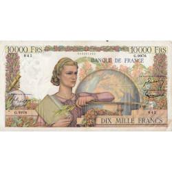 F 50-77 - 01/12/1955 - 10000 francs - Génie Français - Etat : TB+