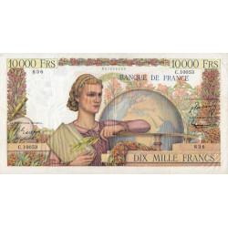 F 50-77 - 01/12/1955 - 10000 francs - Génie Français - Etat : TTB-