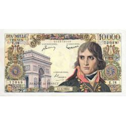F 51-3 - 07/06/1956 - 10000 francs - Bonaparte - Etat : SUP
