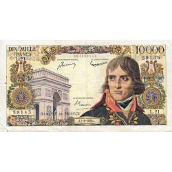F 51-3 - 07/06/1956 - 10000 francs - Bonaparte - Etat : TB+