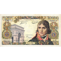 F 51-6 - 06/12/1956 - 10000 francs - Bonaparte - Etat : TTB+
