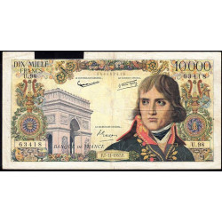 F 51-10 - 07/11/1957 - 10000 francs - Bonaparte - Etat : AB
