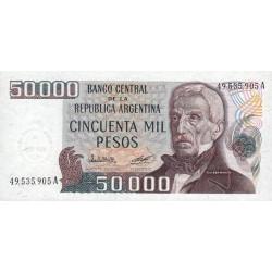 Argentine - Pick 307_1 - 50'000 pesos - Série A -1979 - Etat : NEUF