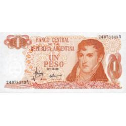 Argentine - Pick 287_1 - 1 peso - Série A - 1970 - Etat : NEUF