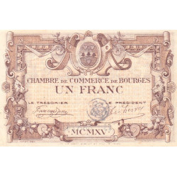 Bourges - Pirot 32-7-B - 1 franc