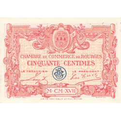 Bourges - Pirot 032-08-D - 50 centimes