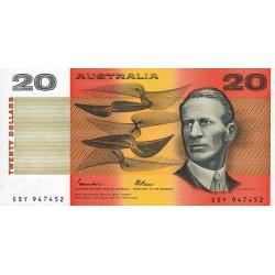 Australie - Pick 46e_2 - 20 dollars - 1985 - Etat : NEUF