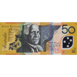 Australie - Pick 54a - 50 dollars - 1995 - Polymère - Etat : NEUF
