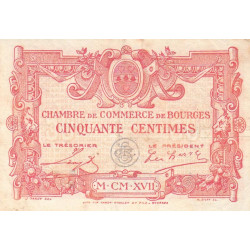 Bourges - Pirot 032-10-A - 50 centimes