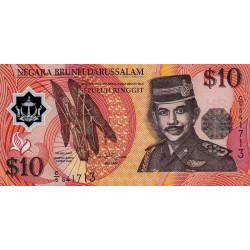 Brunei - Pick 24a - 10 dollars - 1996 - Polymère - Etat : NEUF
