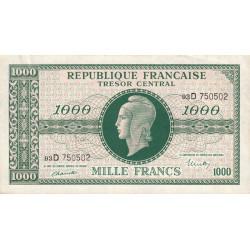 VF 13-1 - 1000 francs - Marianne - 1945 - Etat : SUP+ à SPL-