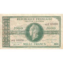 VF 13-2 - 1000 francs - Marianne - 1945 - Etat : TB-