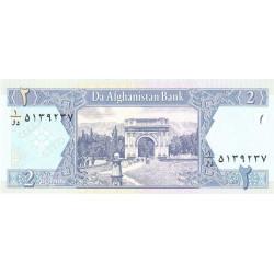 Afghanistan - Pick 65a - 2 afghanis - 2002 - Etat : NEUF