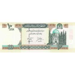 Afghanistan - Pick 67a - 10 afghanis - 2002 - Etat : NEUF