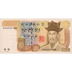 Corée du Sud - Pick 51 - 5'000 won - 2002 - Etat : NEUF