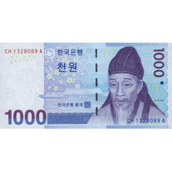 Corée du Sud - Pick 54 - 1'000 won - 2007 - Etat : NEUF
