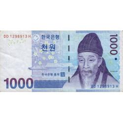 Corée du Sud - Pick 54 - 1'000 won - 2007 - Etat : TTB
