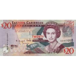 Etats de l'Est des Caraïbes - Pick 49 - 20 dollars - 2008 - Etat : TTB