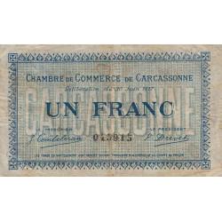 Carcassonne - Pirot 38-13 - 1 franc - Etat : B+