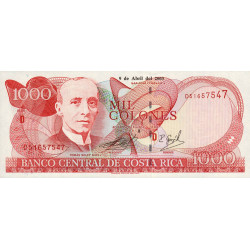Costa Rica - Pick 264d - 1'000 colones - 2003 - Etat : NEUF