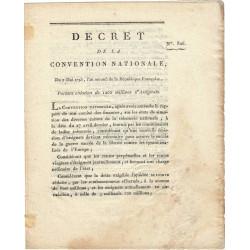 Assignat - Décret du 7 mai 1793