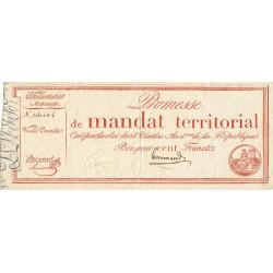 Promesse de mandat 60a - 100 francs - 28 ventôse an 4 - Etat : SUP